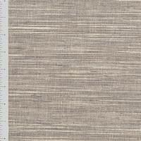 *1 1/2 YD PC--Rhino Gray/White Slub Home Decorating Fabric