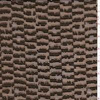 Metallic Bronze Seismic Chiffon