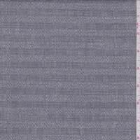 *4 1/2 YD PC--Dark Grey Twill Check Linen Blend Suiting