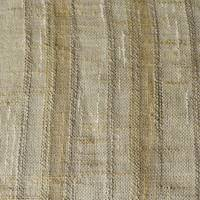*1 YD PC -- Beige/Tan/Taupe Stripe Semi-Sheer Home Decorating Fabric