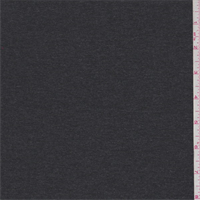 *2 7/8 YD PC--Charcoal Heather Jersey Knit
