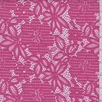 Fuchsia Floral Pop Lace