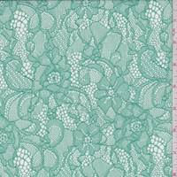 Sea Green Floral Lace