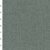 *3 YD PC--Cloudy Sky Gray Wool Blend Twill Suiting