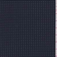 Dark Navy Burnout Check Polyester
