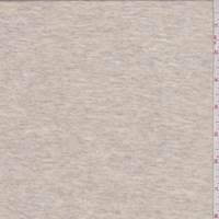*2 3/8 YD PC--Oatmeal Beige T-Shirt Knit