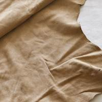 Pottery Brown Suede Hide