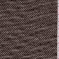 *1 5/8 YD PC--Chocolate/Beige Tweed Wool Jacketing