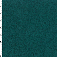 *3 YD PC--Single Sided Berber Fleece - Deep Turquoise