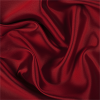 *5 YD PC--Bright Red/Black Silk/Wool Gab