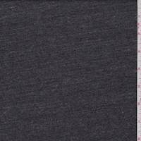 *1 YD PC--Heather Charcoal Sweatshirt Fleece