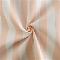 *5 3/4 YD PC--White/Pink Sateen Stripe Home Decorating Fabric