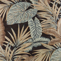 *2.5 YD PC--Brown/Beige Napali Tropic Chenille Jacquard Home Decorating Fabric