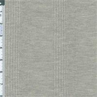 *1 1/2 YD PC--Grey Heather Novelty Pattern Thermal Knit