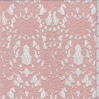 *3 5/8 YD PC--Deep Clay Baroque Lace