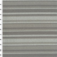 *2 1/2 YD PC--Designer Taupe Gray Pente Stripe Home Decorating Fabric