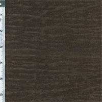 *1 YD PC--Brown Watermark Faux Leather Upholstery Fabric