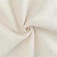 *2 1/2 Cream White Chenille Woven Home Decorating Fabric