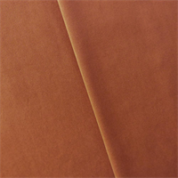 *3 YD PC--Copper Orange Velveteen Home Decorating Fabric