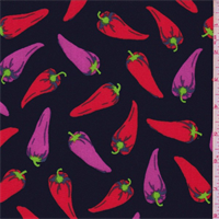 *3 YD PC--Black Multi Pepper Activewear