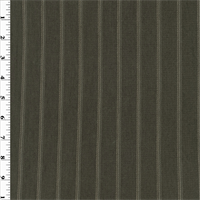 *3 3/4 YD PC--Graystone Striped Pique Knit
