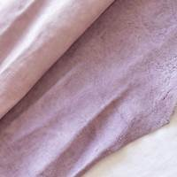 Gentle Pink Matte Texture Leather Hide