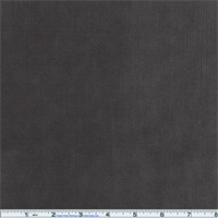 *1 YD PC--Sloane Ribbed Chenille Charcoal Gray Home Decorating Fabric