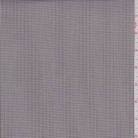 *2 1/8 YD PC--Maroon Micro Check Cotton Shirting