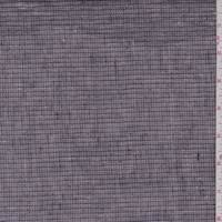 *7/8 YD PC--Lilac/Orchid Pinstripe Linen