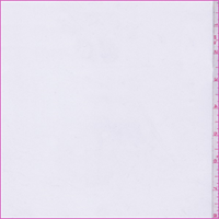 *1 1/2 YD PC--White Polyester Shirting