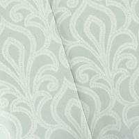 *12 1/2 YD PC--Gray/Pearl White Baroque Jacquard Home Decorating Fabric