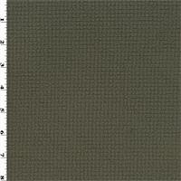 *1 1/2 YD PC--Double Sided Grid Fleece - Ash Brown