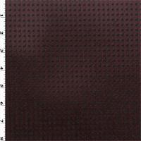 *1 1/2 YD PC--Polartec Single Sided Grid Velour Fleece - Sangria