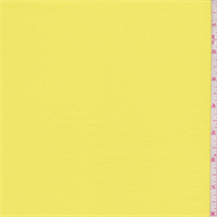 *1 3/4 YD PC--Lemon Sueded Crepe de Chine