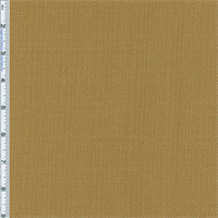 *1 YD PC--Antique Yellow/Gold Slub Woven Home Decorating Fabric