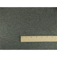 *2 1/2 YD PC--Black/Grey Wool Blend Double Cloth Jacketing