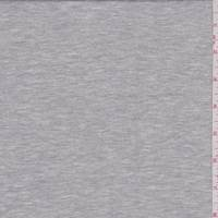 *3/4 YD PC--Heather Grey French Terry Knit