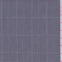 *2 YD PC--Black/White Glenplaid Polyester Suiting