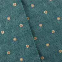 *7 1/2 YD PC--Aegean Blue Polka Dots Decorating Fabric