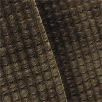 *1/2 YD PC--Brown Merrimac Gridlock Chenille Upholstery Fabric