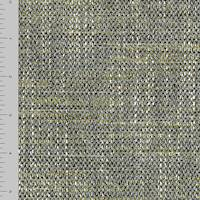 *3 YD PC--Deep Gray/Olive Textured Dobby Home Decorating Fabric