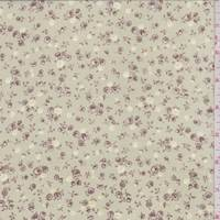 *1 YD PC--Soft Sage Ditsy Floral Georgette