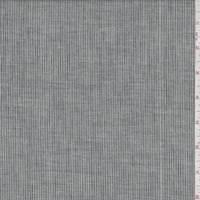 Vintage Navy Pinstripe Cotton Lawn