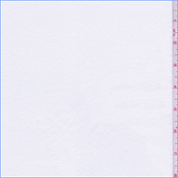 *3 YD PC--White Polyester Sueded Shirting