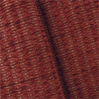 *1/2 YD PC--Cajun Red Valdese Redeem Chenille Upholstery Fabric