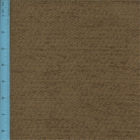*5 YD PC--Chenille Princeton Saddle Brown Home Decorating Fabric