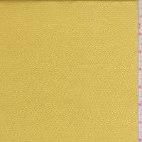 Golden Yellow Hammered Silk Satin