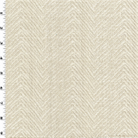 *2 YD PC--Cream Ivory Chevron Chenille Woven Home Decorating Fabric