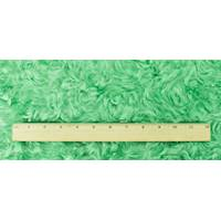 *1 YD PC--Green Shaggy Swirl Pile Faux Fur Coating