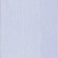 *2 5/8 YD PC--Ink/White Stripe Cotton Shirting